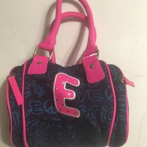 Peace & Justice Blue Pink Small Purse